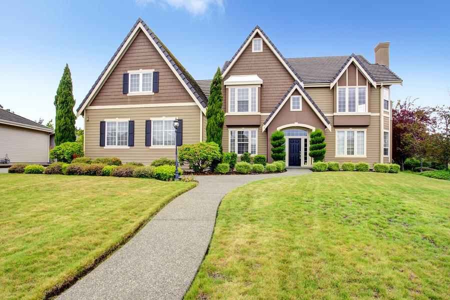 beautiful photo of a beautiful house